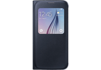 SAMSUNG S-view Cover Galaxy S6 PU Leather Black - (EF-CG920PBEGWW)