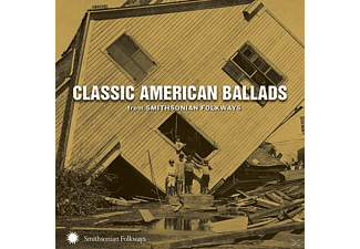 VARIOUS - Classic American Ballads From Smithsonian Folkways [CD]