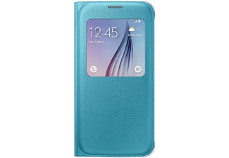 SAMSUNG S-view Cover Galaxy S6 PU Leather Blue - (EF-CG920PLEGWW)