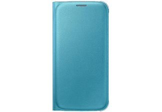SAMSUNG Flip Wallet Galaxy S6 PU Leather Blue - (EF-WG920PLEGWW)