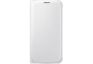 SAMSUNG Flip Wallet Galaxy S6 PU Leather White - (EF-WG920PWEGWW)