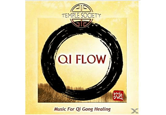 Temple Society - Qi Flow-Music For Qi Gong Healing - (CD)
