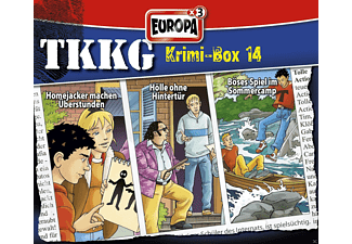 Tkkg - Tkkg Krimi-Box 14 - (CD)