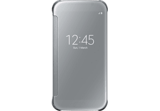 SAMSUNG Clear View Cover Galaxy S6 Silver - (EF-ZG920BSEGWW)