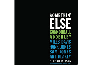 Cannonball Adderley, Miles Davis, Hank Jones, Sam Jones, Art Blakey - Somethin' Else - (Vinyl)