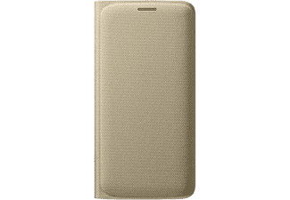 SAMSUNG Flip Wallet Galaxy S6 Edge Fabric Gold - (EF-WG925BFEGWW)