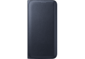 SAMSUNG Flip Wallet Galaxy S6 Edge PU Leather Black - (EF-WG925PBEGWW)