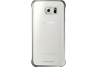 SAMSUNG Clear Cover Galaxy S6 Edge Green - (EF-QG925BGEGWW)