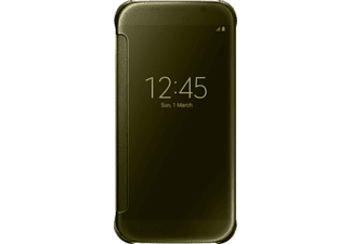 SAMSUNG Clear View Cover Galaxy S6 Gold - (EF-ZG920BFEGWW)