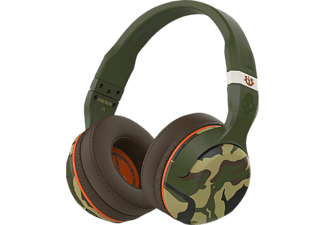 SKULLCANDY HESH 2, Over-ear Headset, Bluetooth, Camo/Olive