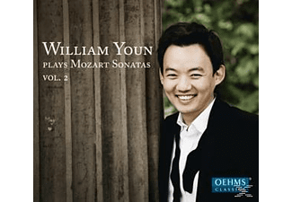 William Youn - Klaviersonaten Kv 280, 311, 332, 545 - (CD)