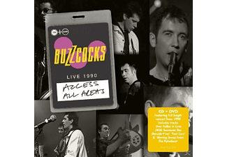 Buzzcocks - Access All Areas - (CD + DVD Video)