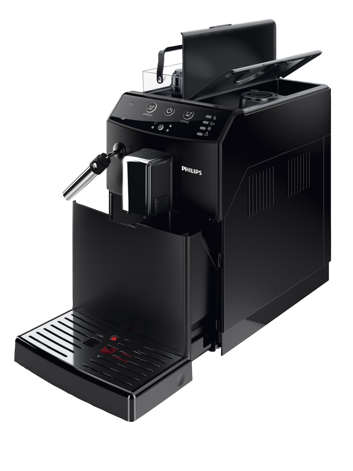philips hd 8821 01 serie 3000 panarello kaffeevollautomat 1 8 liter wassertank ebay. Black Bedroom Furniture Sets. Home Design Ideas