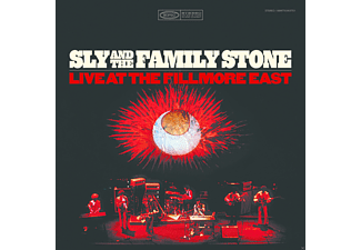 Sly & The Family Stone - Live At The Fillmore East - (Vinyl)
