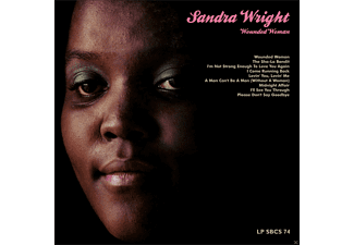 <b>Sandra Wright</b> - Wounded Woman (Rsd 15) - (Vinyl) - Sandra-Wright---Wounded-Woman-(Rsd-15)---(Vinyl)