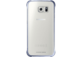 SAMSUNG Clear Cover Galaxy S6 Edge - Svart