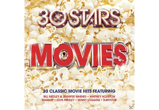 VARIOUS - 30 Stars: Movies [CD]