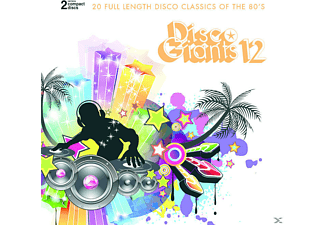 VARIOUS - Disco Giants Vol.12 [CD]