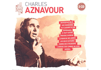 Charles Aznavour - All You Need Is: Charles Aznavour [CD]