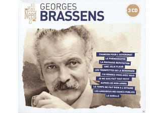 Georges Brassens - All You Need Is: Georges Brassens - (CD)