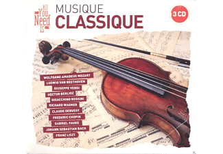 Various - All You Need Is: Classical Music [CD]