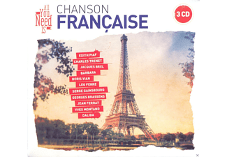 VARIOUS - All You Need Is: French Chanson - (CD)
