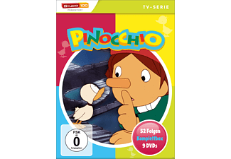 Pinocchio - Komplettbox - Episode 1-52 - (DVD)