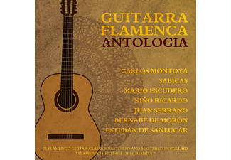VARIOUS - Guitarra Flamenca Antologia [CD]