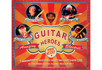 James/albert Lee/ Burton - Guitar Heroes - (CD)