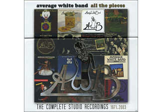 The Average White Band - All The Pieces - Complete Studio Recordings 1971-2003 - (CD)
