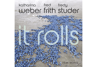 Katharina Weber, Fredy Studer, Frith Fred - It Rolls - (CD)
