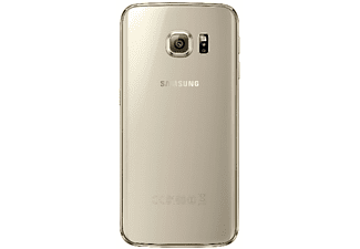 SAMSUNG Clear Cover Galaxy S6 Edge - Guld