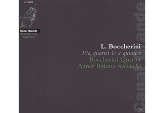 VARIOUS, Boccherini Quartet & Bijlsma - Trio,Quartet & 2 Quintets - (CD)