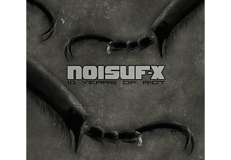 Noisuf-x - 10 Years Of Riot (Lim.Ed.) - (CD)
