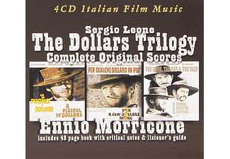 Ennio Morricone - The Complete Dollars Trilogy - Complete Original Scores (CD)