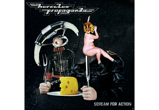Hercules Propaganda - Scream For Action - (CD)
