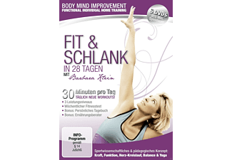 Fit & Schlank in 28 Tagen Body mind Improvement [DVD]