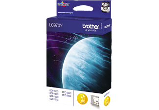 BROTHER Original Tintenpatrone Gelb (LC-970Y)