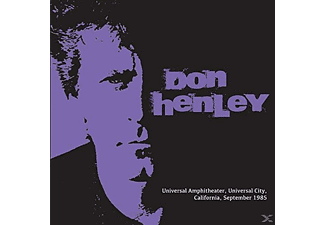 Don Henley - Universal Amphitheater, Universal City, California, September 1985 - (CD)