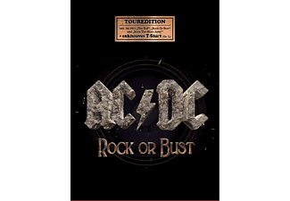 Ac/Dc - Rock Or Bust (Tour Edition + T-Shirt L) - (CD + T-Shirt)