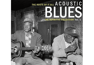 VARIOUS - Acoustic Blues Vol.1 (2-Cd) - (CD)