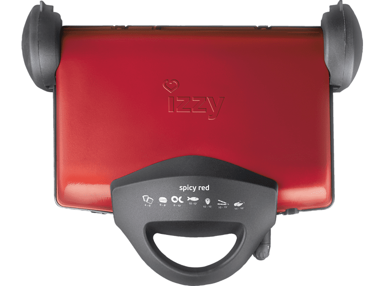 IZZY Spicy Red SM-19  μικροσυσκευές   φροντίδα συσκευές κουζίνας τοστιέρες sales