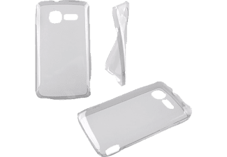 IDOL 1991 Θήκη ALCATEL 4012A OT FIRE Ultra Thin Tpu 0.3mm White  - (5205308129674)