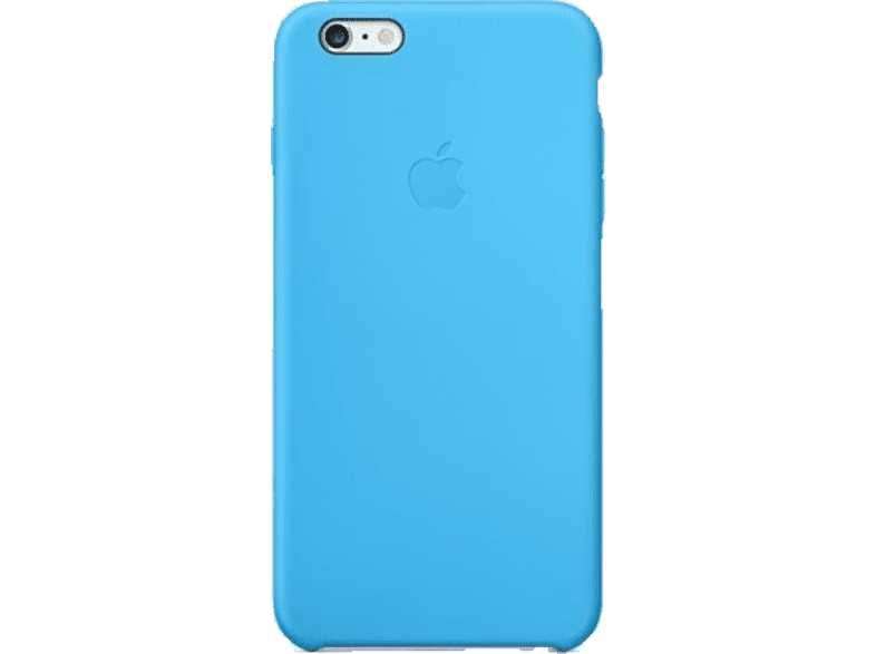 APPLE iPhone 6 Plus Silicone Case Blue - (MGRH2ZM/A) smartphones   smartliving iphone θήκες iphone smartphones   smartliving αξεσουάρ