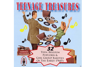 VARIOUS - Teenage Treasures - (CD)