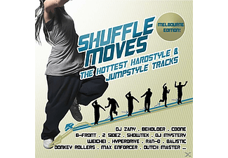 VARIOUS - Shuffle Moves: The Hottest Hardstyle & Jumpstyle T - (CD)