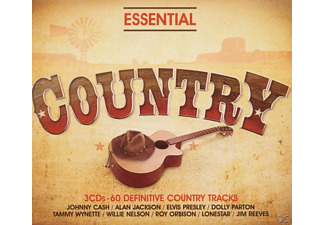 VARIOUS - Essential-Country - (CD)