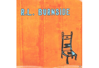 R.L. Burnside - WISH I WAS IN HEAVEN SITTING D - (Vinyl)