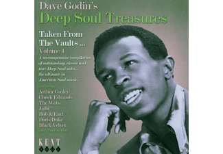 VARIOUS - Dave Godin's Deep Soul Treasures Vol.4 [CD]