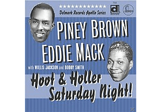 Brown, Piney & Mack, Eddie - Hoot & Holler - (CD)